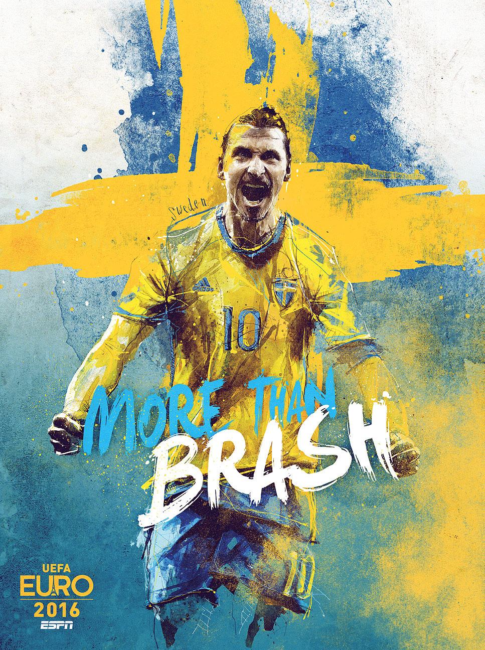 teamfoto voor Zweden